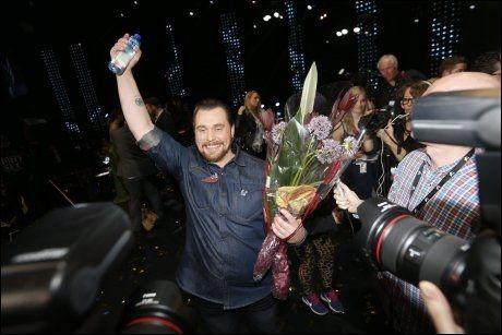 IKKE EN «SILENT STORM»: Carl Espen blir Norges bidrag til Eurovision Song Contest i København i mai. Foto: SCANPIX