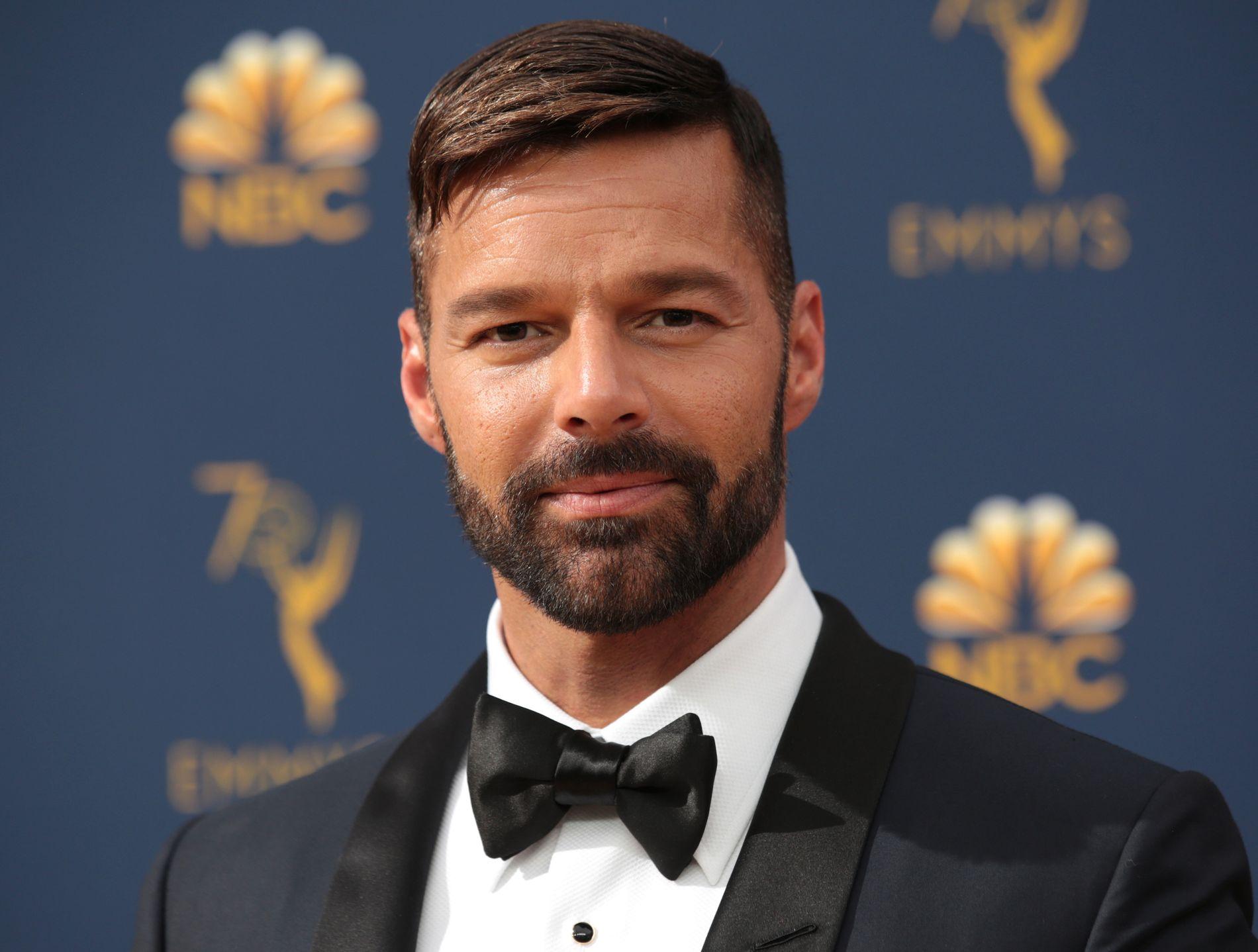 OVERLYKKELIG: Ricky Martin kunngjorde stolt på selveste nyttårsaften at datteren, lille Lucia, hadde ankommet.