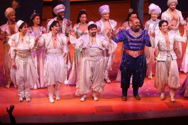 Aladdin på Broadway.