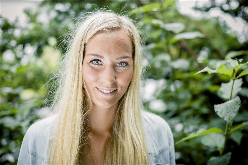 MISBRUKT PÅ PORNONETTSTED: Kveldens «Farmen»-taper, Kristina Myrseth Moe. Foto: Krister Sørbø