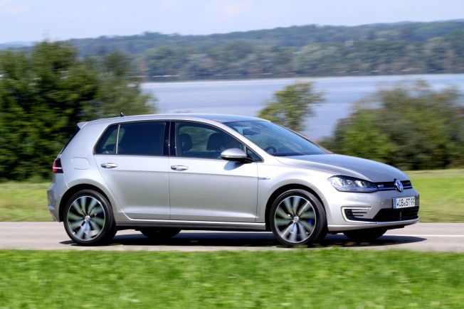 Volkswagens første ladbare hybrid, Golf GTE. Kommer til Norge i februar 2015. Foto: Hanne Hattrem