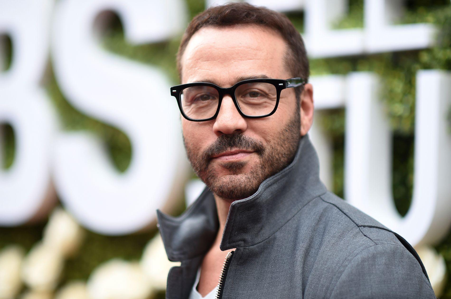 I HARDT VÆR: Skuespiller Jeremy Piven, her på en CBS-fest i Los Angeles i august i år.