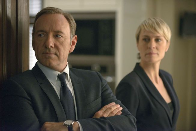 RETUR: Kevin Spacey som Francis Underwood og Robin Wright som Clair Underwood i «House of Cards».