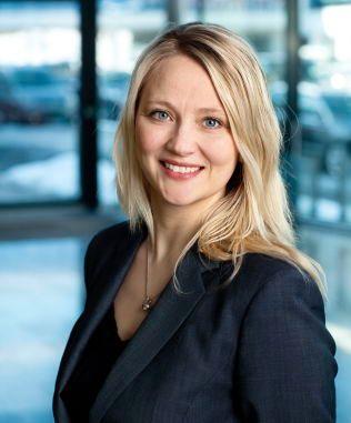 NORSK REPRESENTANT: Anita Svanes er informasjonssjef i Volkswagen Norge hos importøren Harald A.Møller. Foto: HARALD A.MØLLER