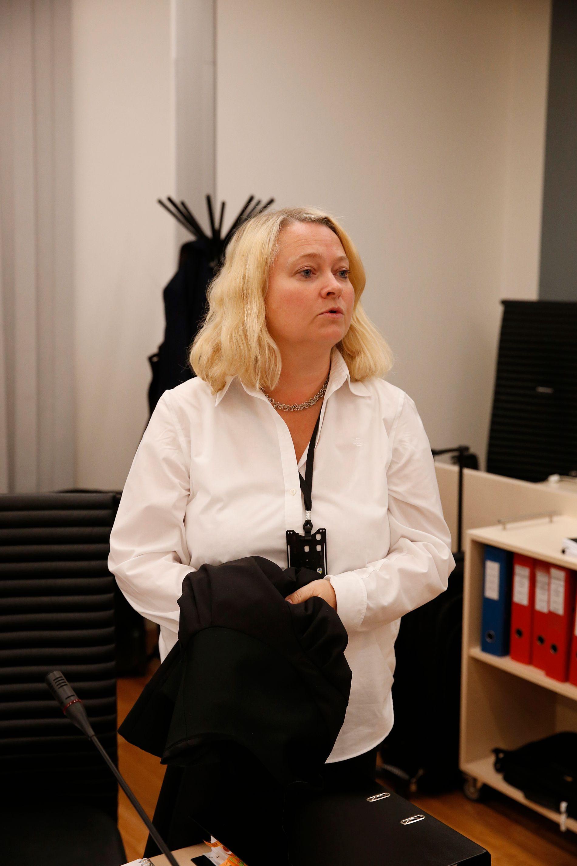 FORNØYD: Statsadvokat Guro Hansson Bull mener dommen sender et tydelig signal.