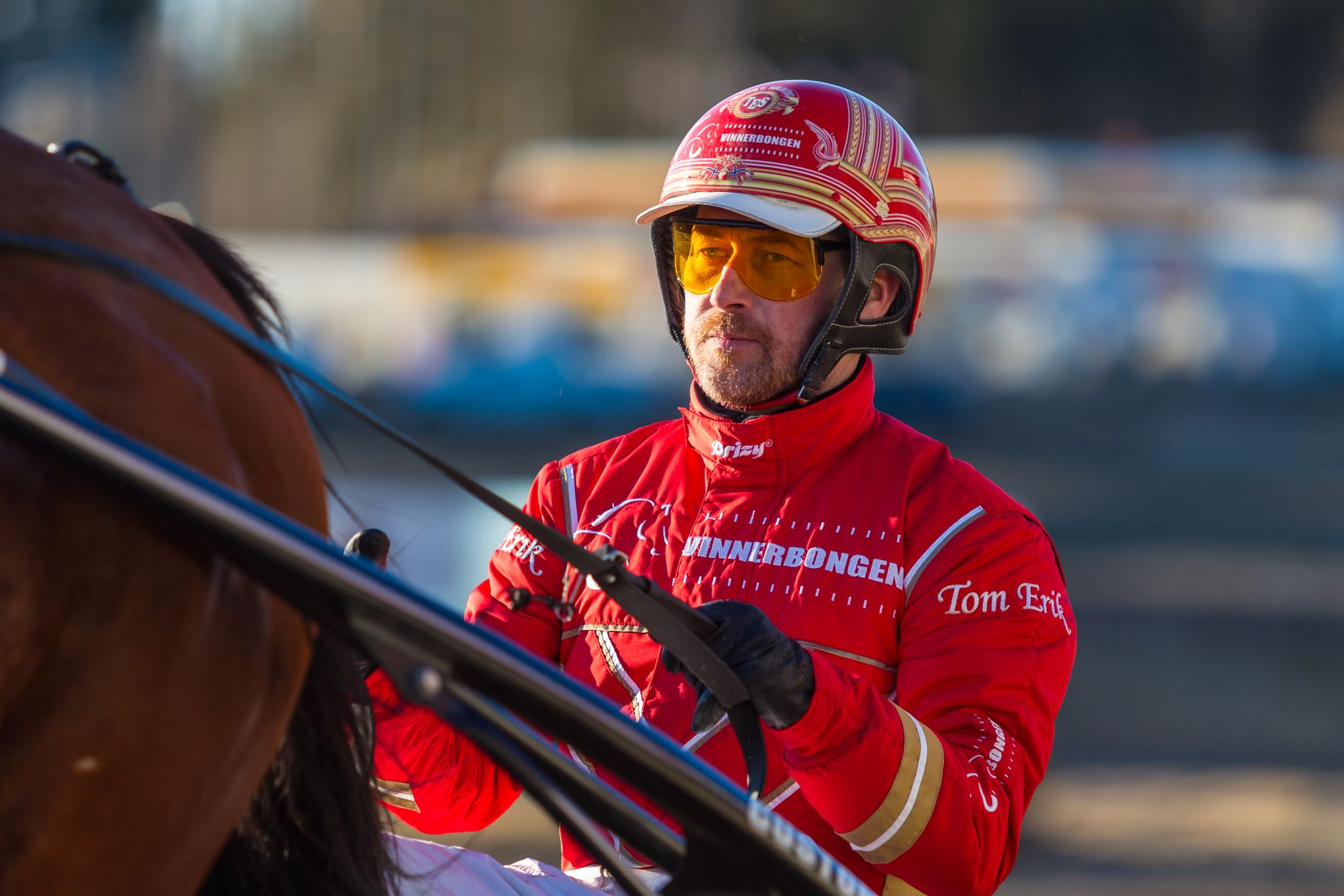 BANKERKUSK: Tom Erik Solberg vinner med Bianca Sisa, som vil ta sin sjette strake triumf.