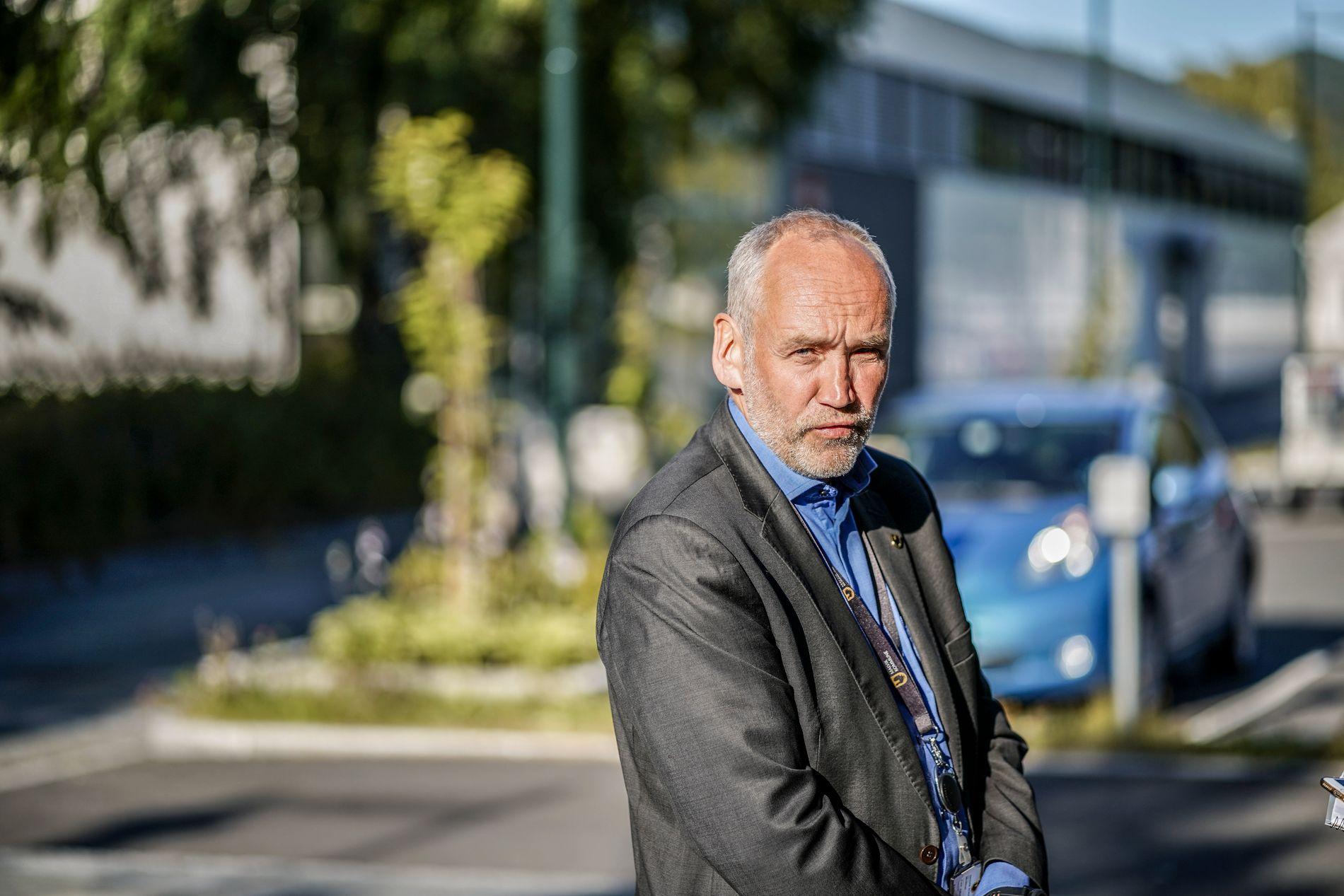 MALVIK: Rådmann Carl-Jacob Midttun i Malvik kommune.