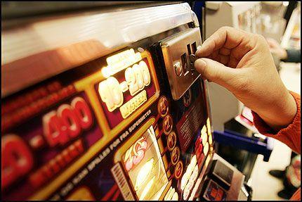 Spilleautomater lovlig