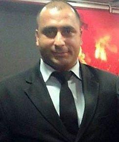 MISTET LIVET: Sikkerhetsvakt Fatih Cakmak