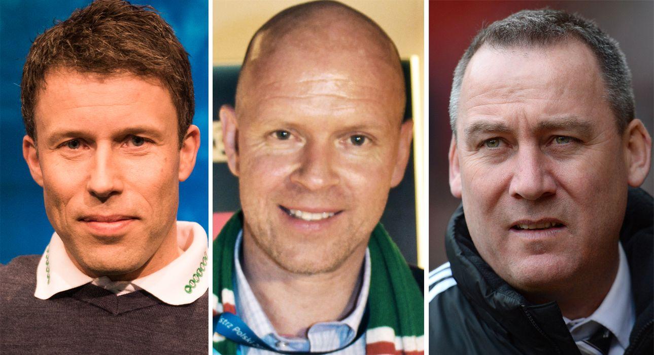 GIR RÅD: Ronny Johnsen, Henning Berg og René Meulensteen har alle sine råd til Ole Gunnar Solskjær.