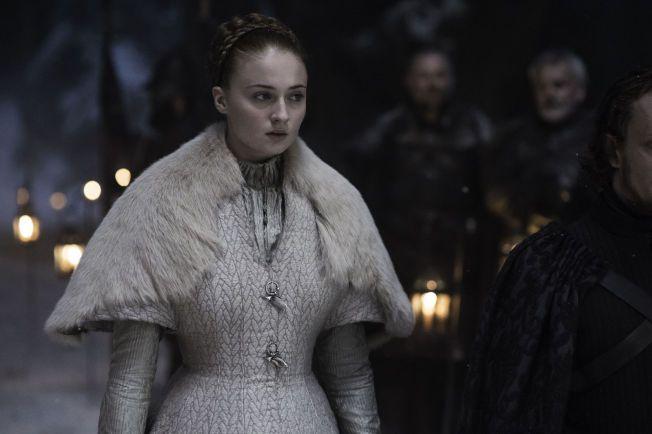 OVERGREP: Sansa får lide i ekteskapet med Ramsay Bolton.