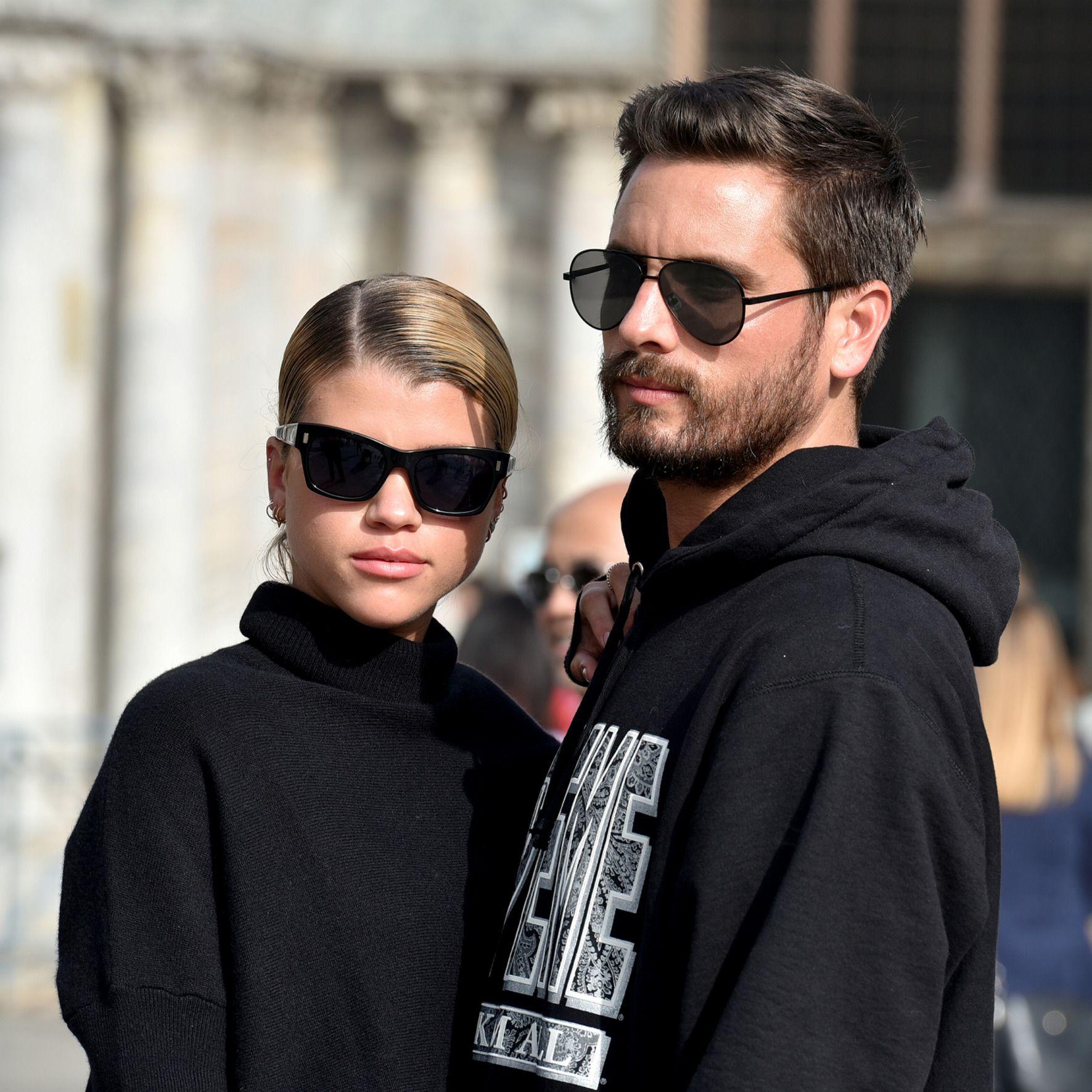 FERIE: Sofia Richie og Scott Disick i Venecia i forrige uke.