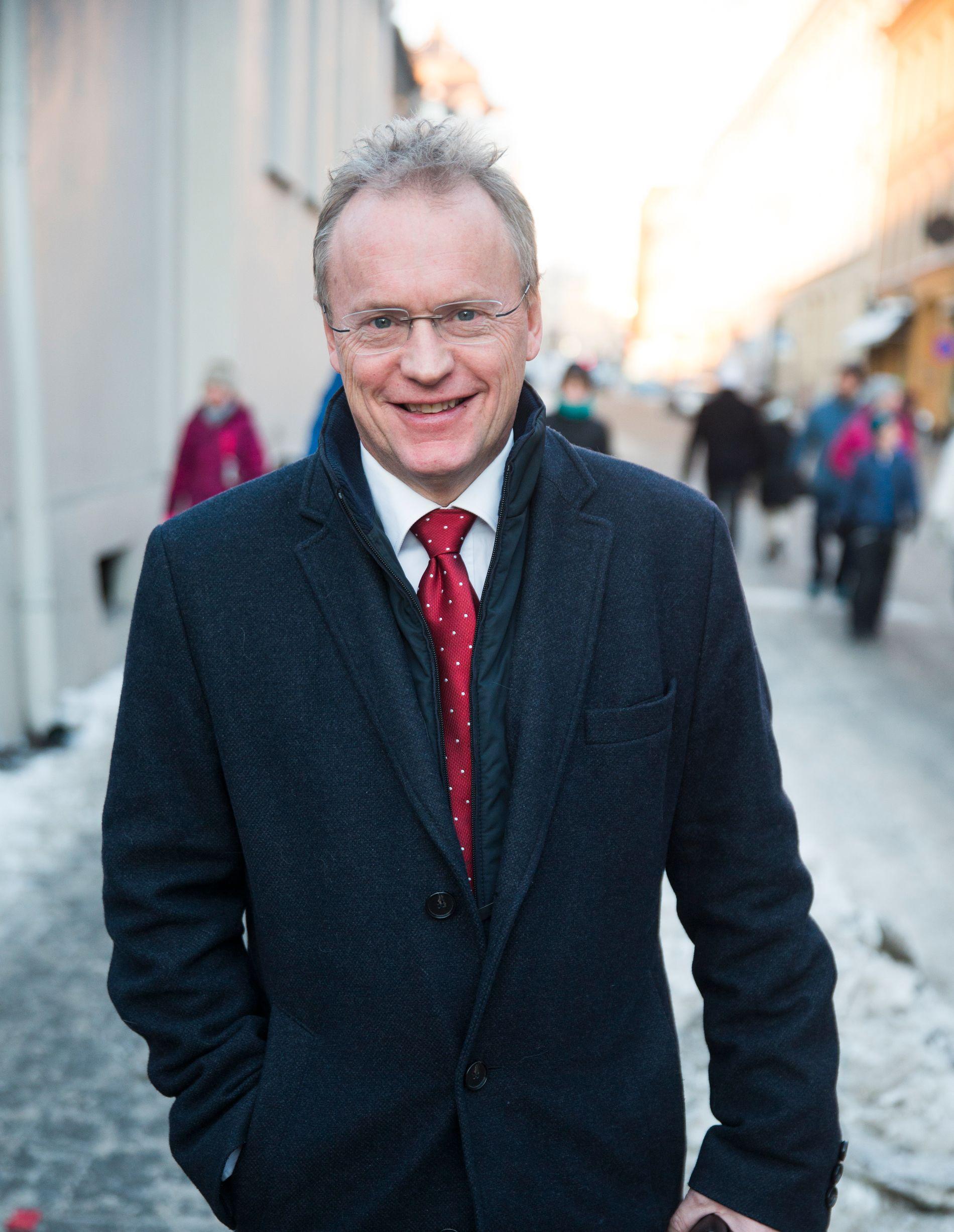 LUNKEN: Raymond Johansen (Ap) er byrådsleder i Oslo.
