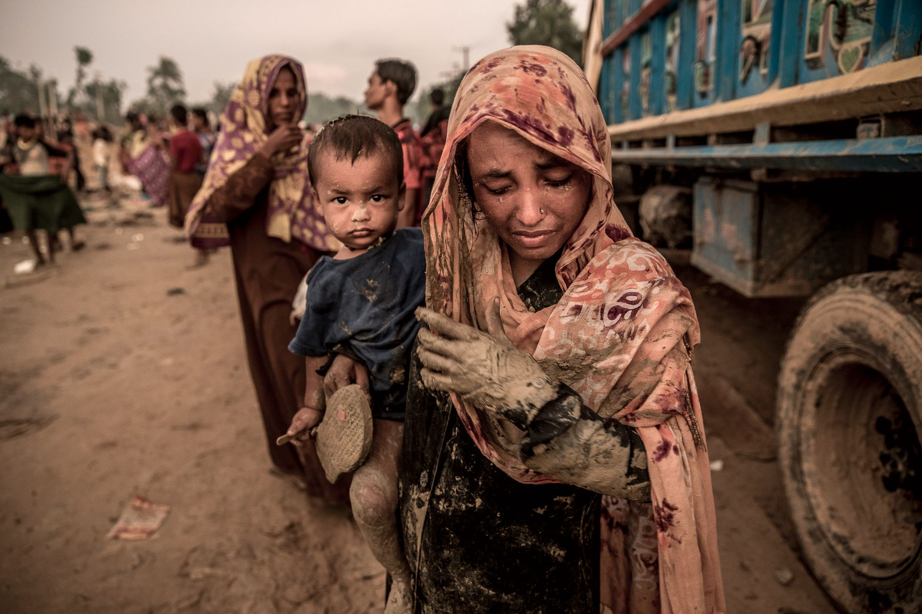 RØMTE: I september i fjor møtte VG mange rohingyaer som hadde flyktet fra hjemlandet, og over grensen til Bangladesh.