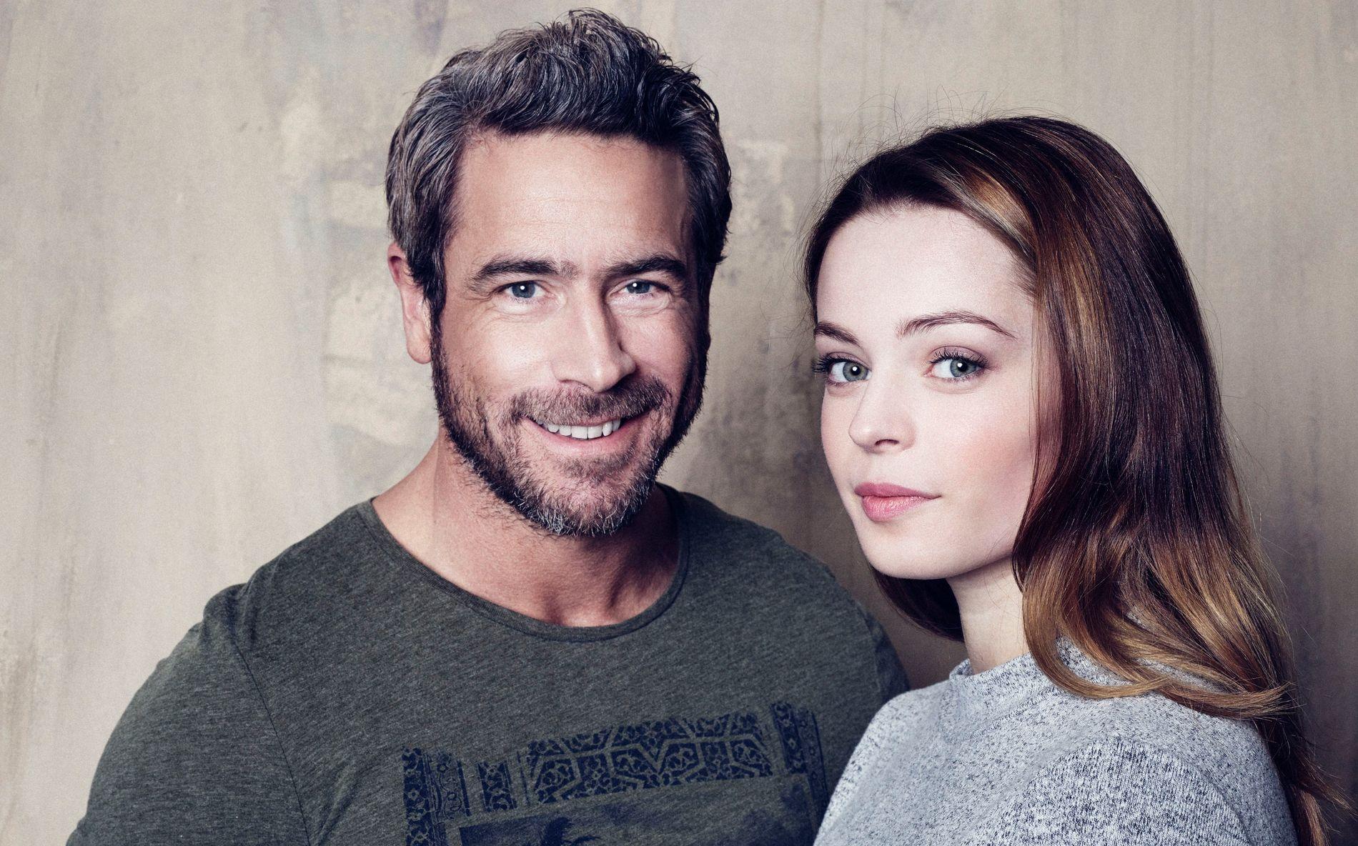 FAR OG DATTER: Ola Rapace som Rickard og Louise Nyvall som datteren Thyra i «Farang».