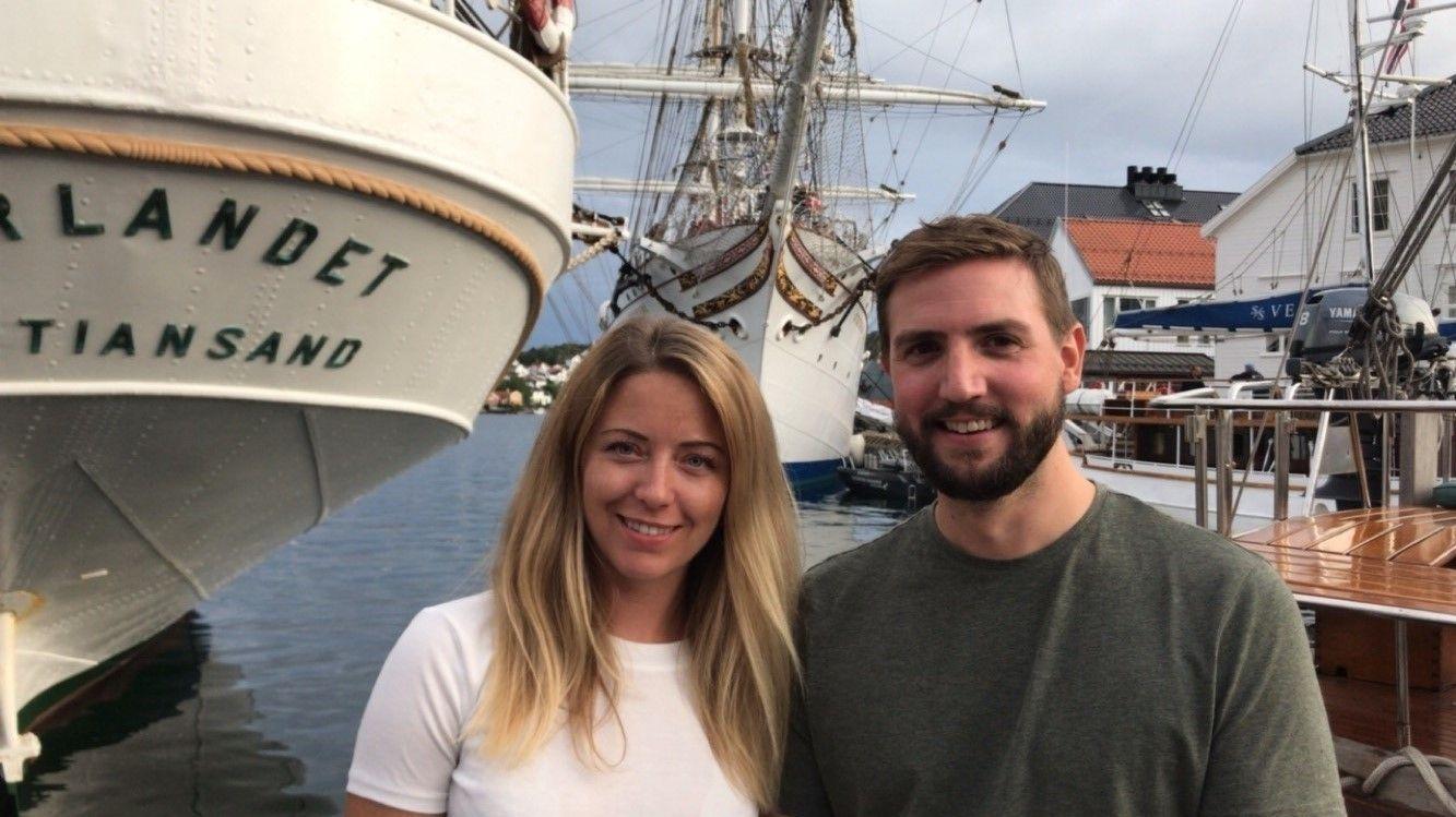 Brim Explorers gründere: Daglig leder Agnes Árnadóttir og finansdirektør Espen Larsen-Hakkebo.