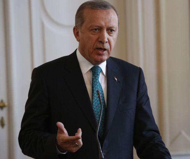 PRESIDENT: Recep Erdogan og hans AKP stiller i dag til valg i Tyrkia.