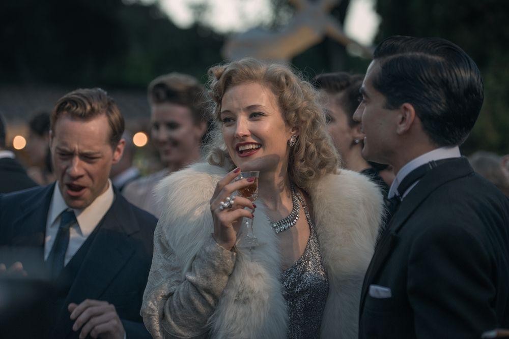 FILMEN OM HENIE: Ine Marie Wilmann som Sonja Henie i filmen «Sonja».