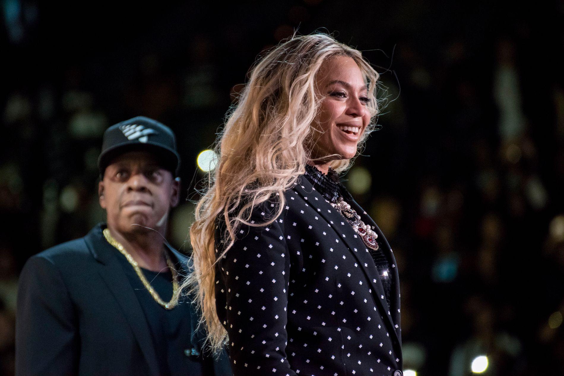 TUKLET MED: Superstjernen Beyoncé lanserte albumet «Lemonade» ekslusivt på Tidal.