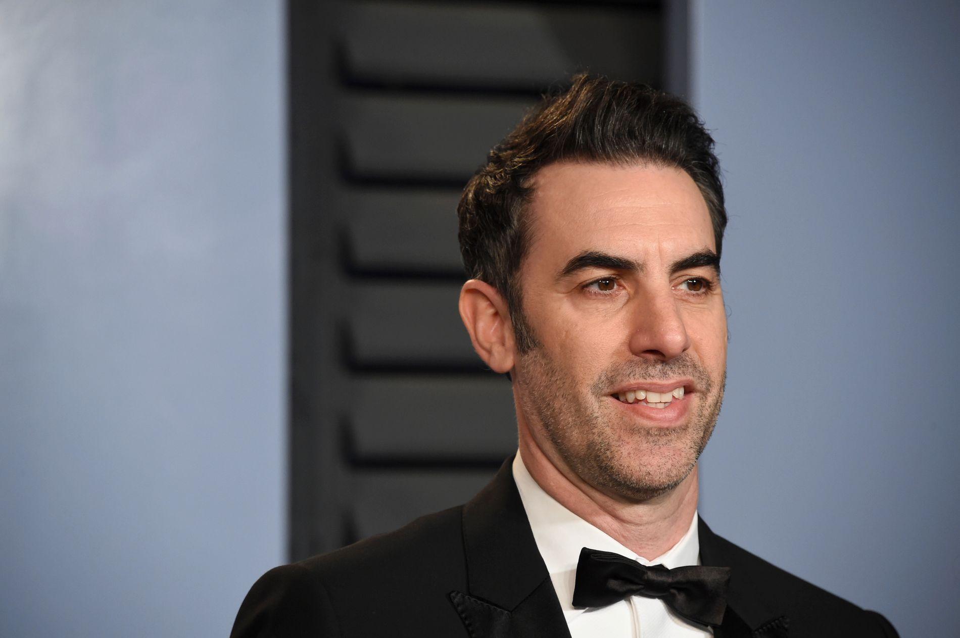 KONTROVERSIELL: Sacha Baron Cohen (46) er aktuell i nye utfordrende rollefigurer i serien «Who is America?».