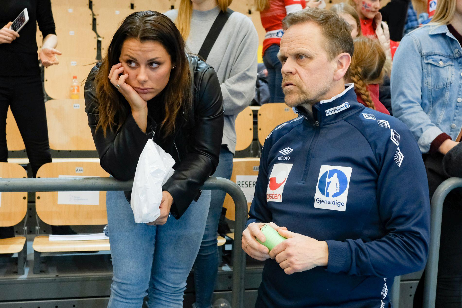 MØRK DAG: Thorir Hergeirsson må klare seg uten Nora Mørk i EM.