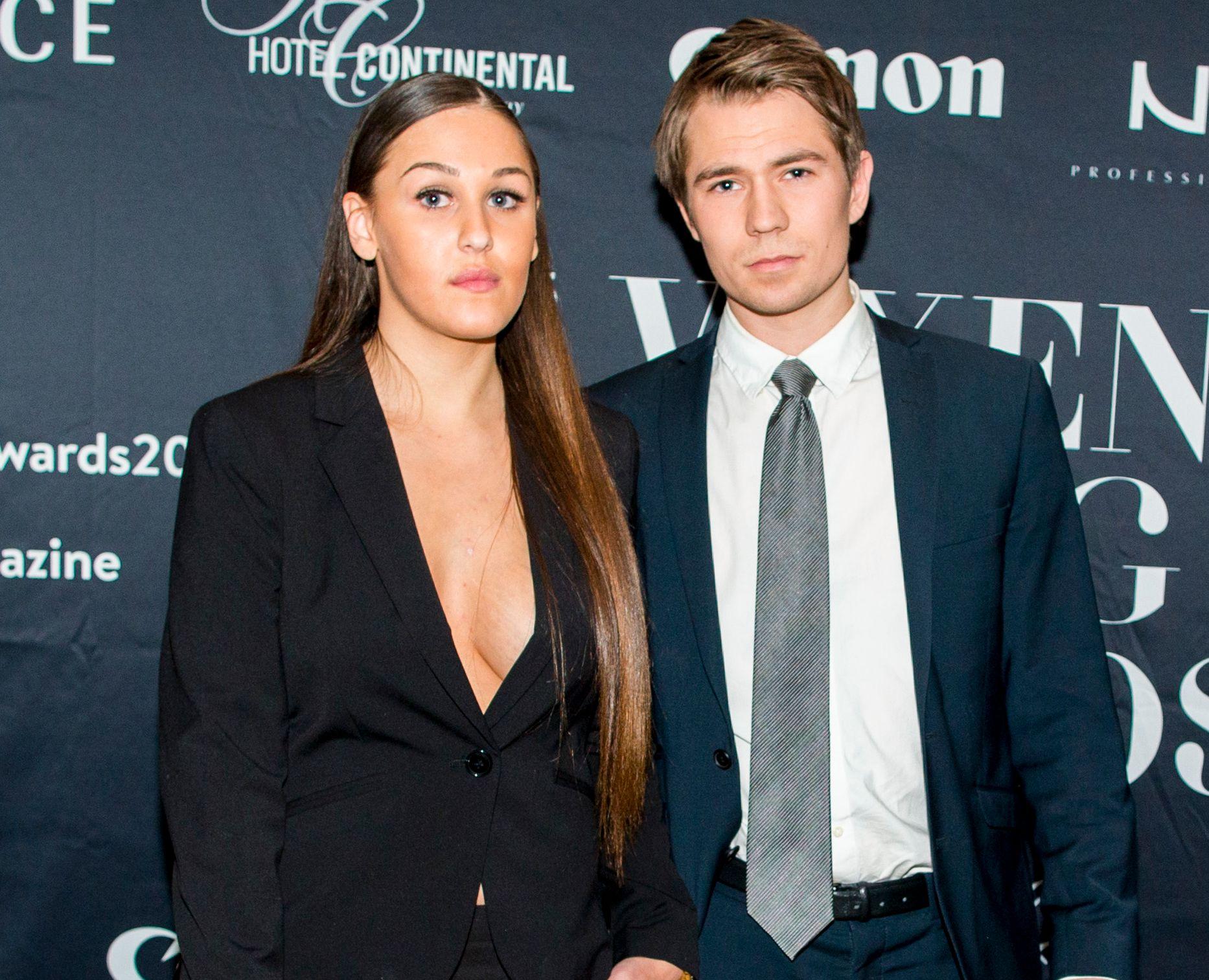 GIFTEKLARE: Anna Rasmussen og samboeren Jan Lossius avslører at de skal gifte seg i 2018.