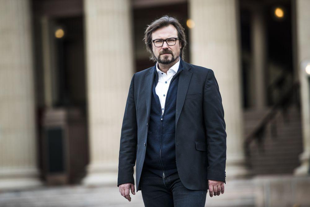 JOBBER: Jusprofessor Alf Petter Høgberg jobber ved Universitetet i Oslo.
