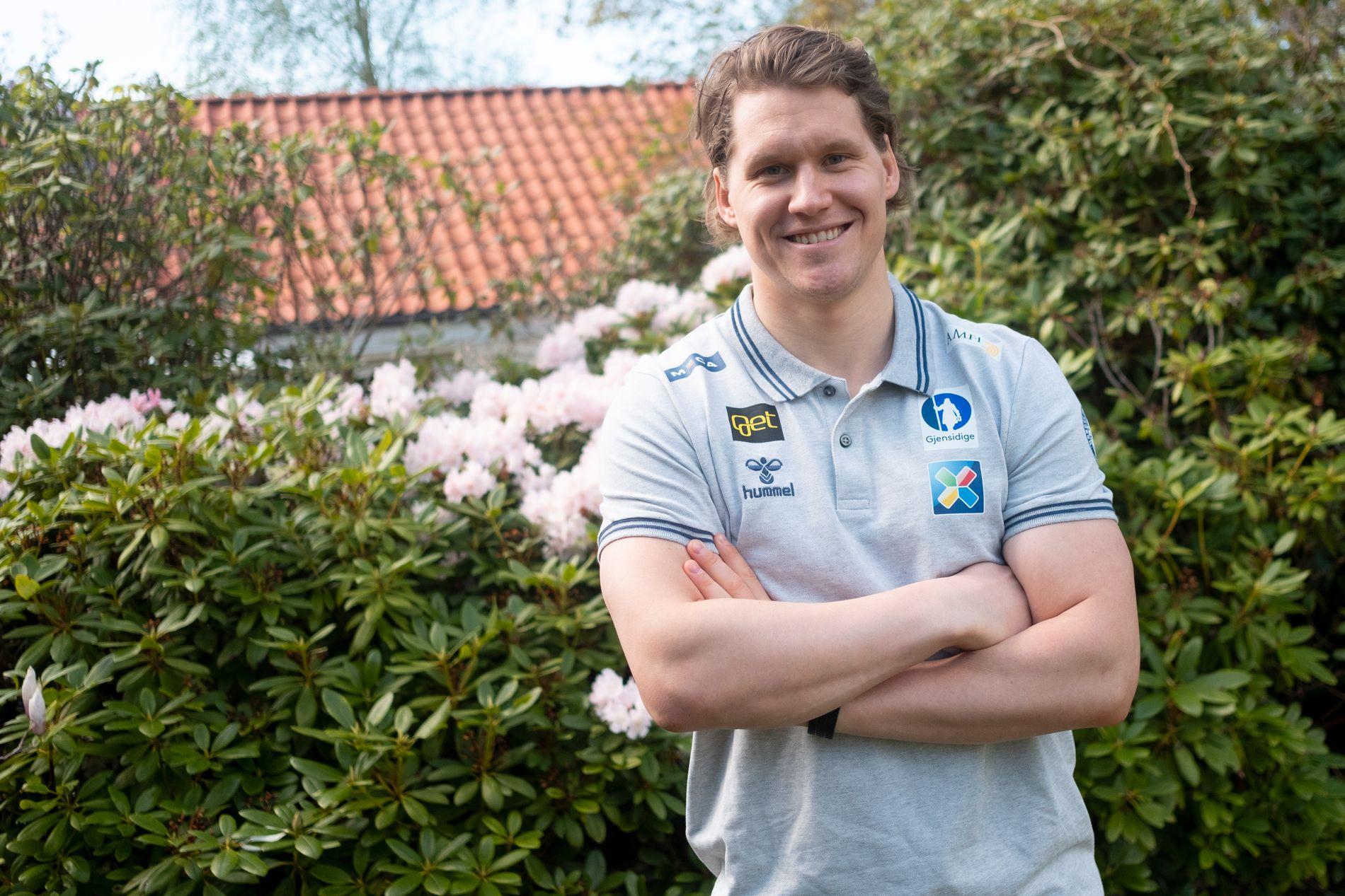 OL-TOPPSCORER: Alexander Bonsaksen scoret to mål i Pyeongchang. I VM i Herning har han scoret en gang for Norge.