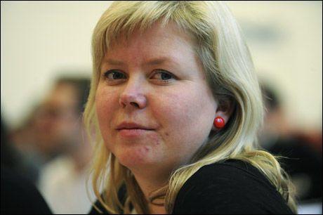 MOT EU: Silje Schei Tveitdal, partisekretær i SV, tror ikke Norge søker EU de kommende fire årene. Foto: Scanpix