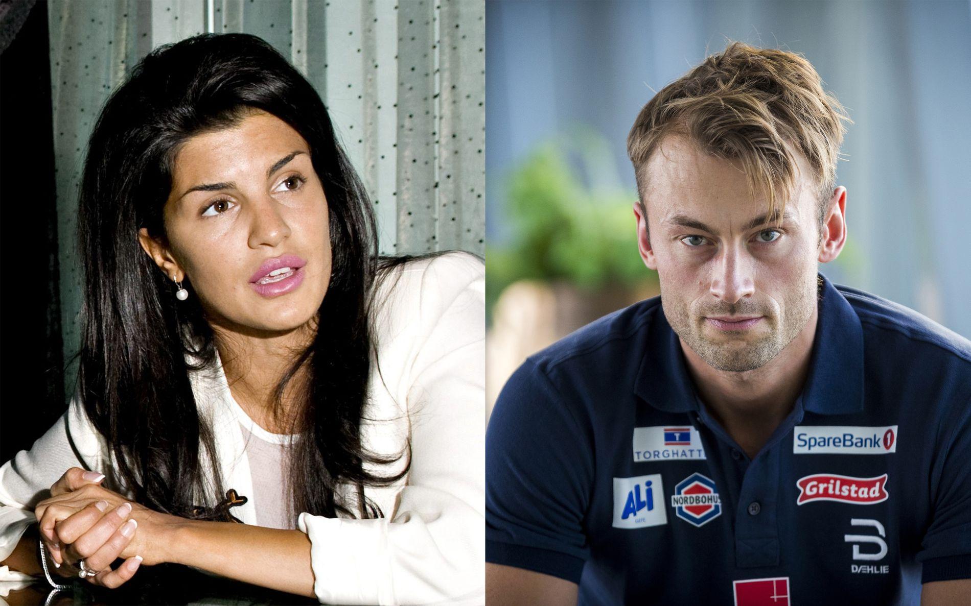 SURT: Aylar Lie og Petter Northugs gamle romanse har endt i bokstrid.