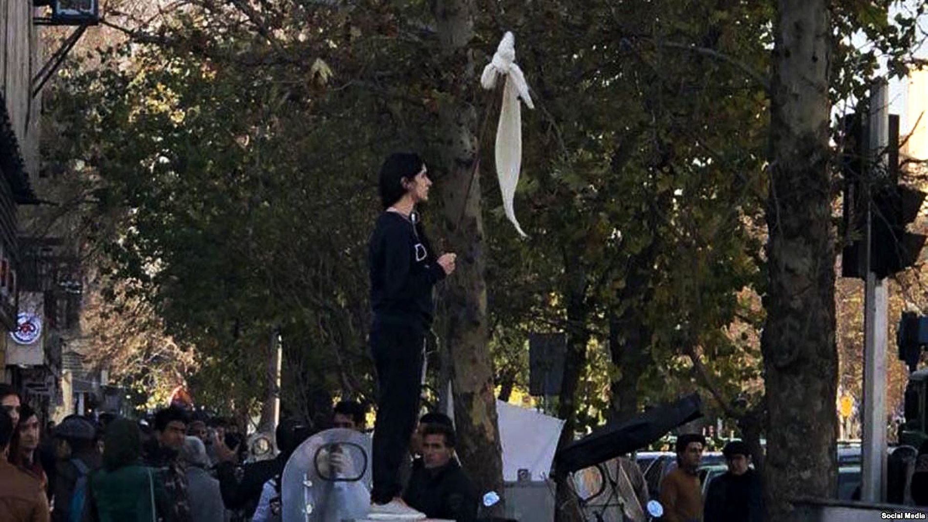 Image result for iranian women protest hijab