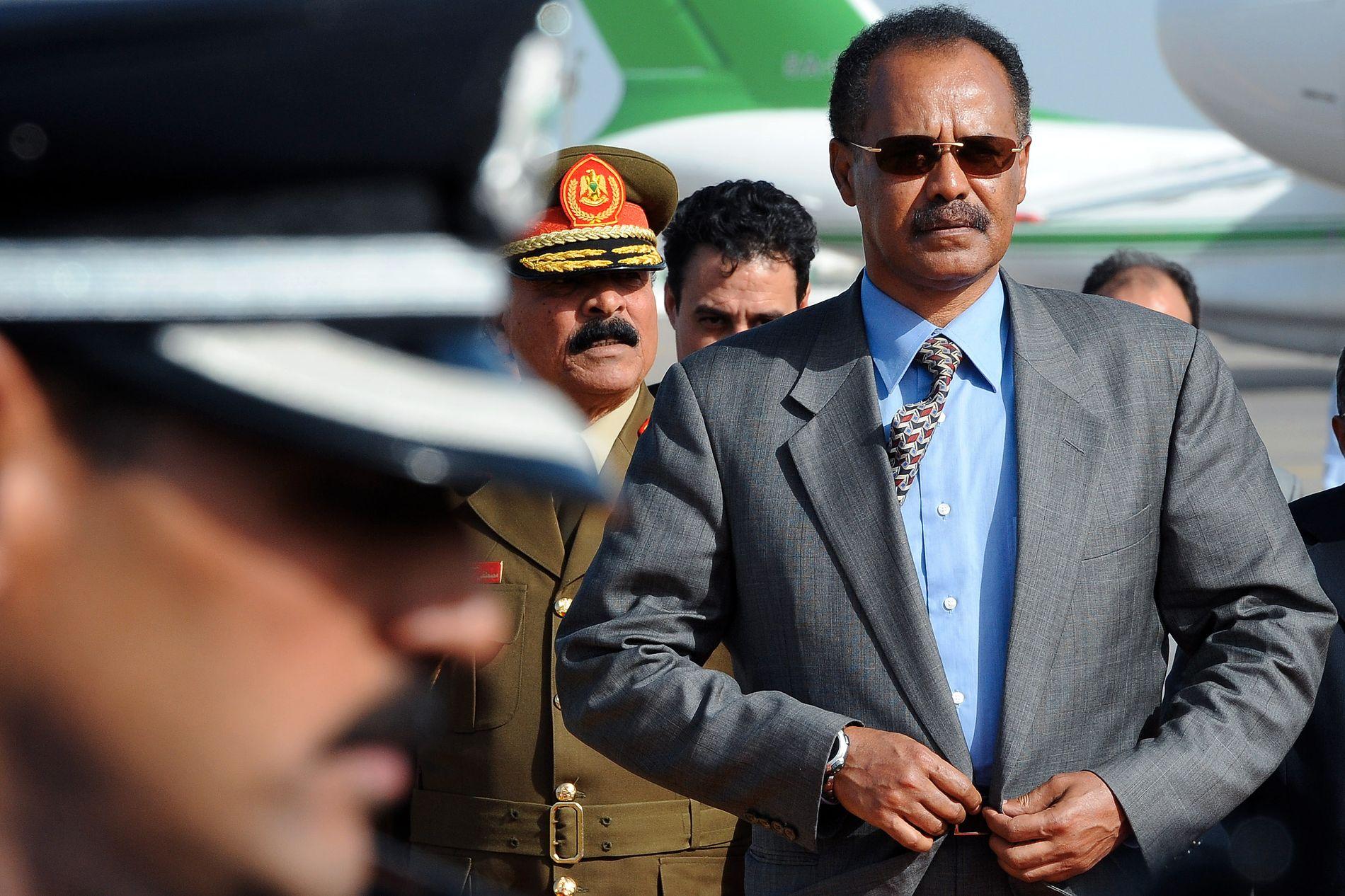 JERNHÅND: Eritreas president Isaias Afwerki har styrt landet og undertrykt befolkningen siden Eritrea fikk sin uavhengighet i 1993.