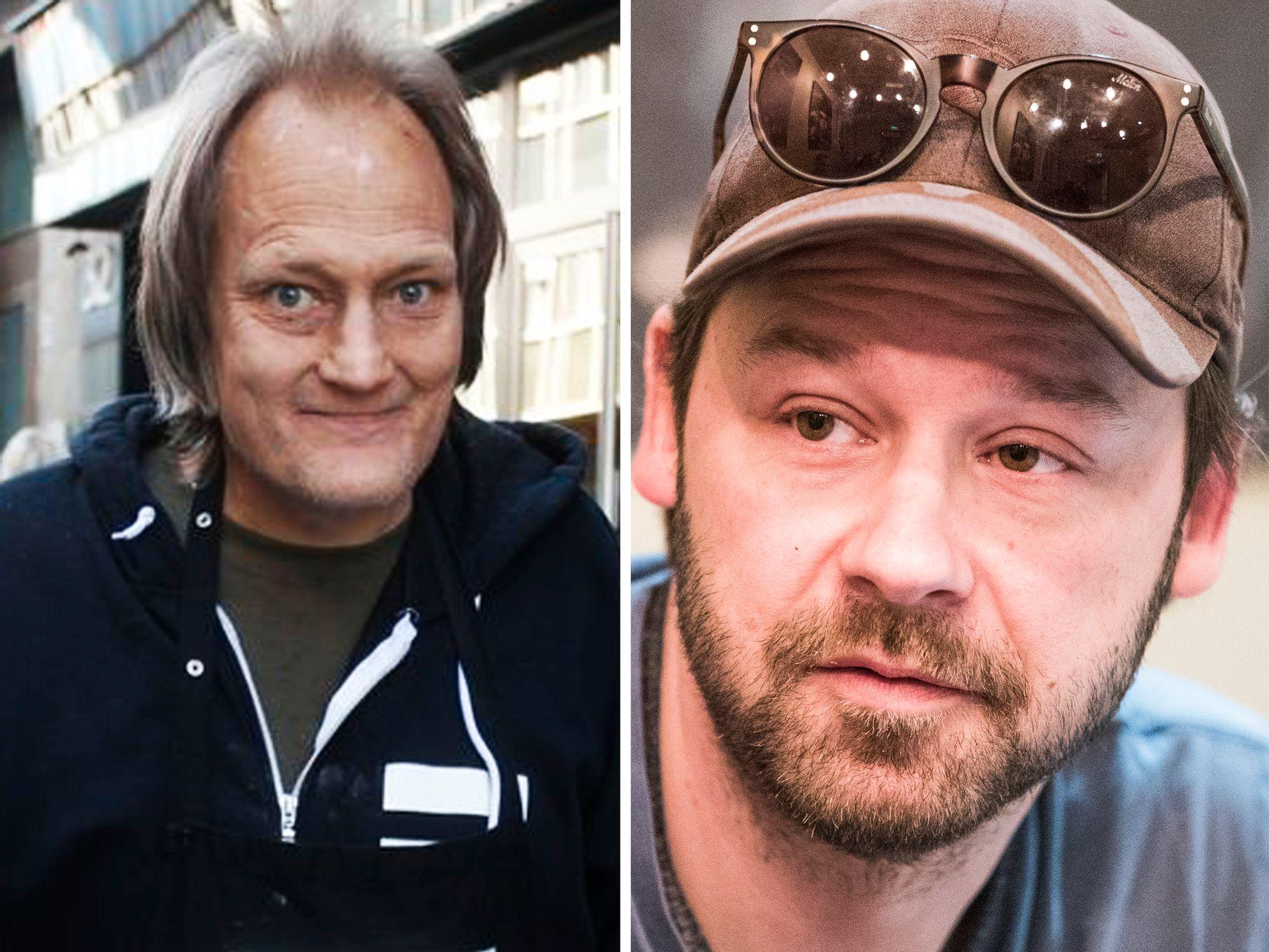 GODE VENNER: - Vi har hatt mange fine stunder sammen, sier Petter «Uteligger» Nyquist etter at han fikk vite at Christer Modin er død.