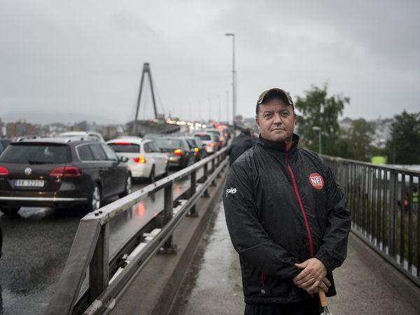FNB: Partileder Frode Myrhol for Folkeaksjonen nei til mer bompenger (FNB).