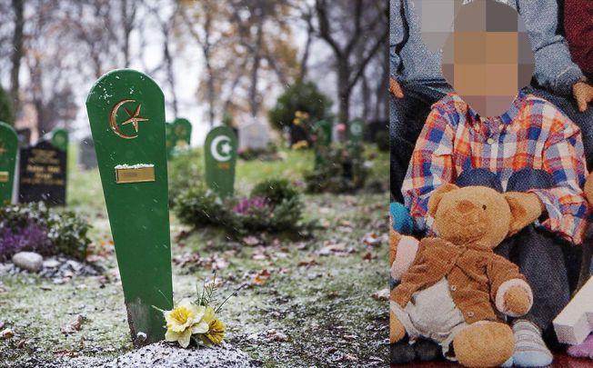 GRAVEN: I begynnelsen av september ble tiåringen begravet et sted i Oslo. En ensom, gul blomst av plast pyntet graven sammen med den første snøen som kom forrige uke.