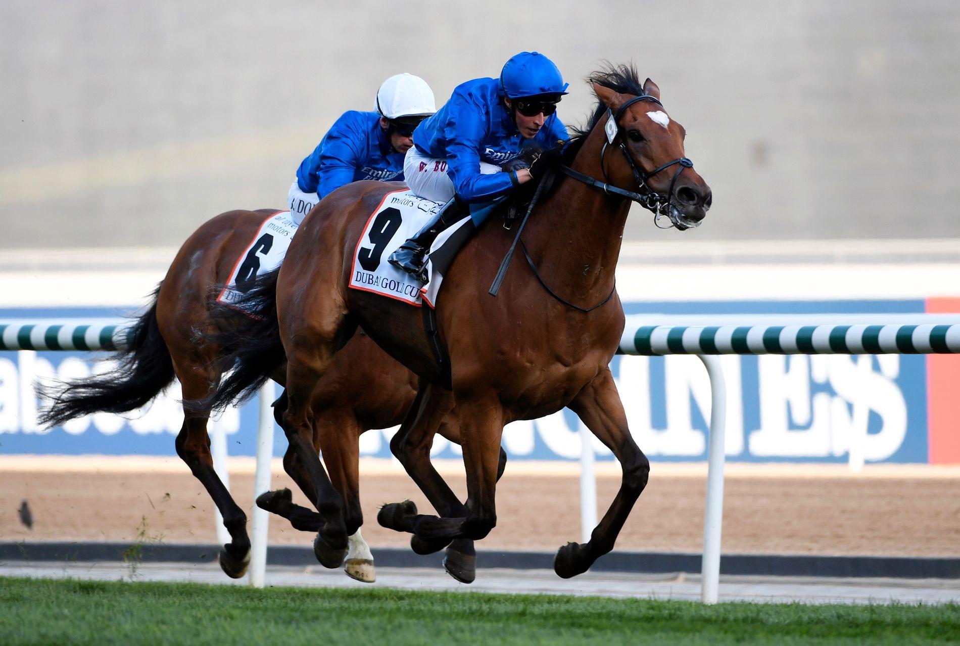 SEIER: William Buick vinner lørdagens Dubai Gold Cup med Cross Counter.