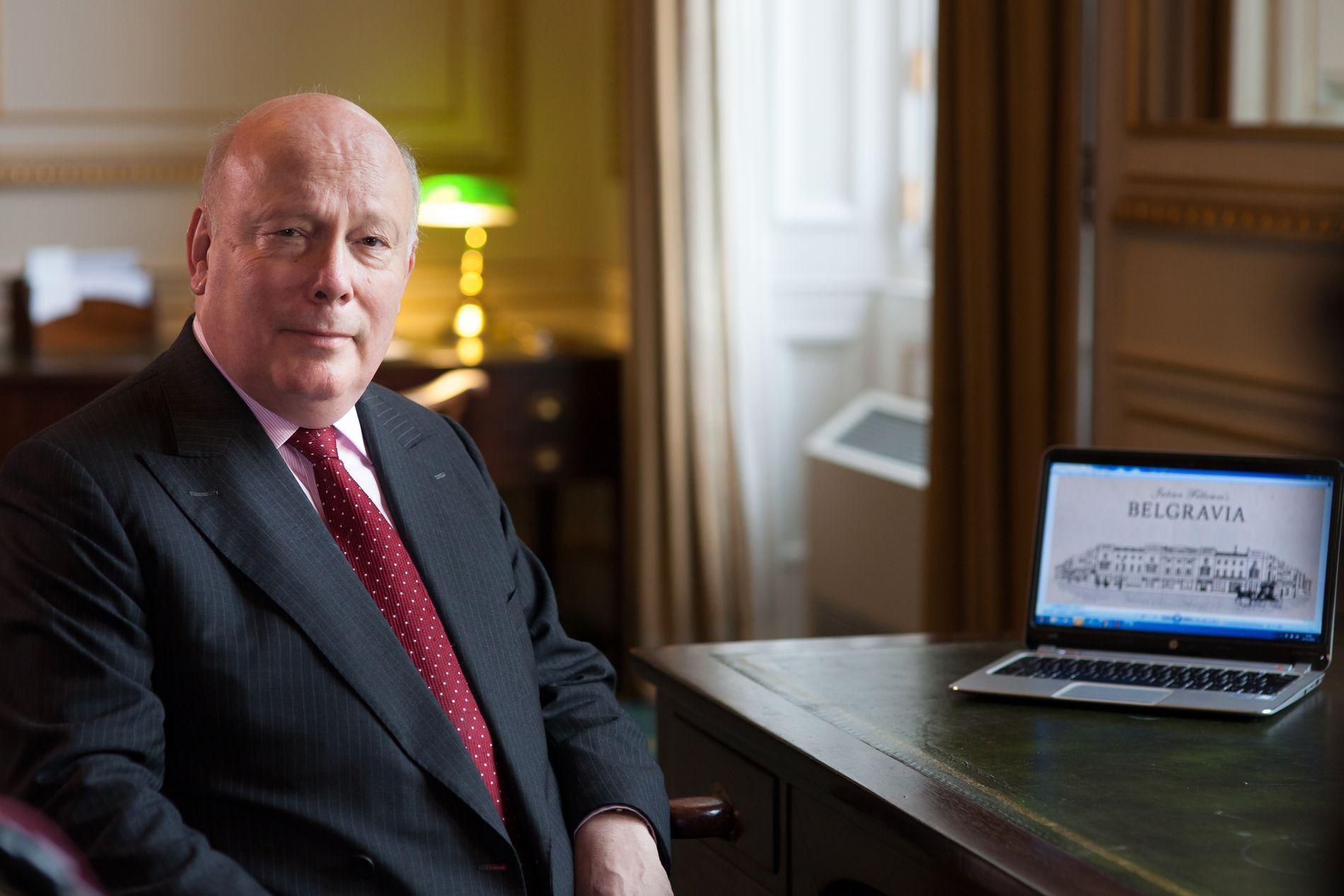 «GANSKE TROLIG»: Mannen bak «Downton Abbey», Julian Fellowes har stor tro på at den populære TV-serien kan bli film.