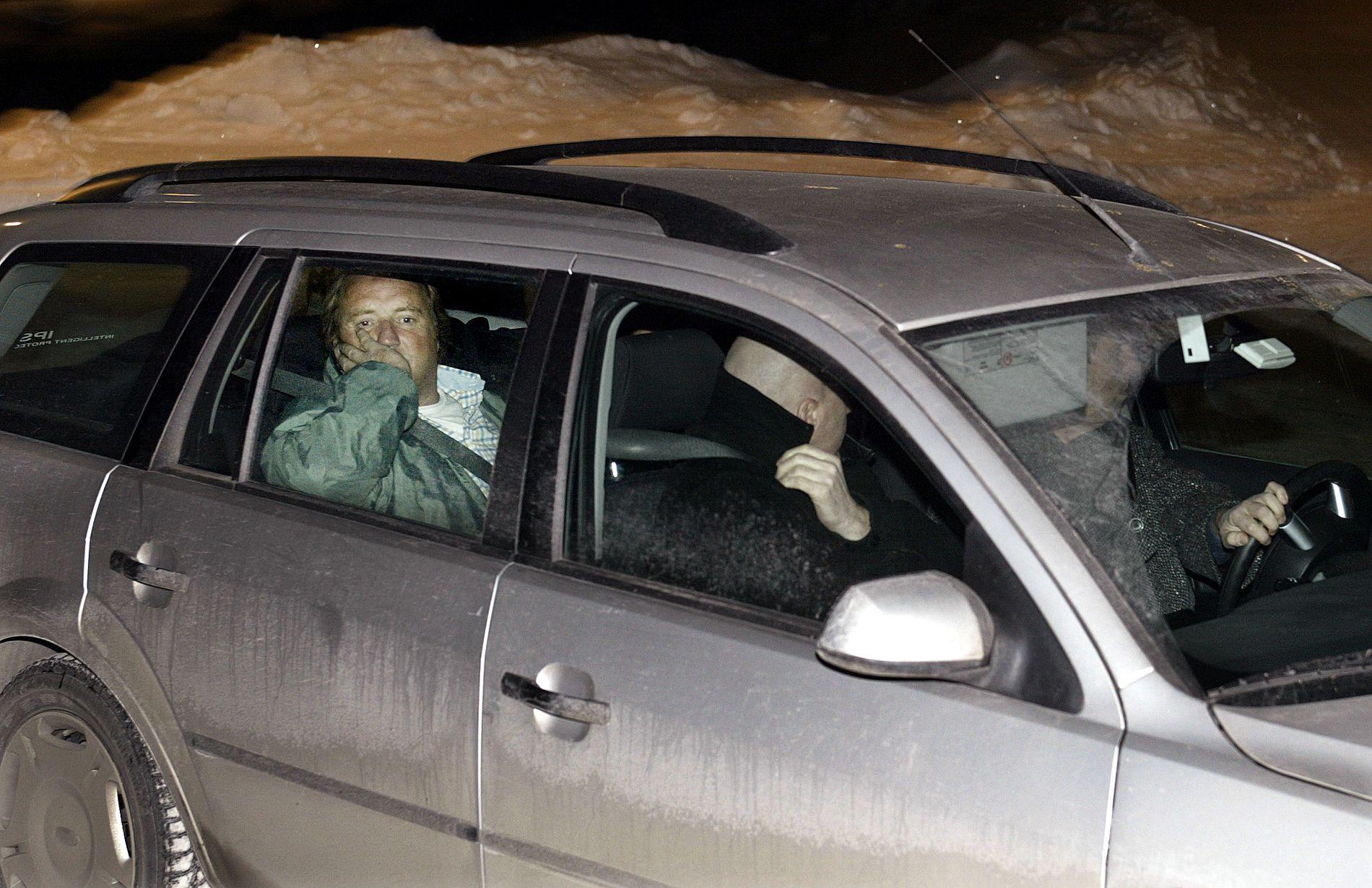 MANGE KALLENAVN: Lundeby, her fra en tidligere arrestasjon, har blant annet blitt kalt «Bamse» og «Formann».