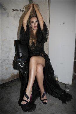 PROSTITUERT: Prostituerte Patrizia D'addario er blant kvinnene Berlusconi skal ha vært involvert med. Foto: AP