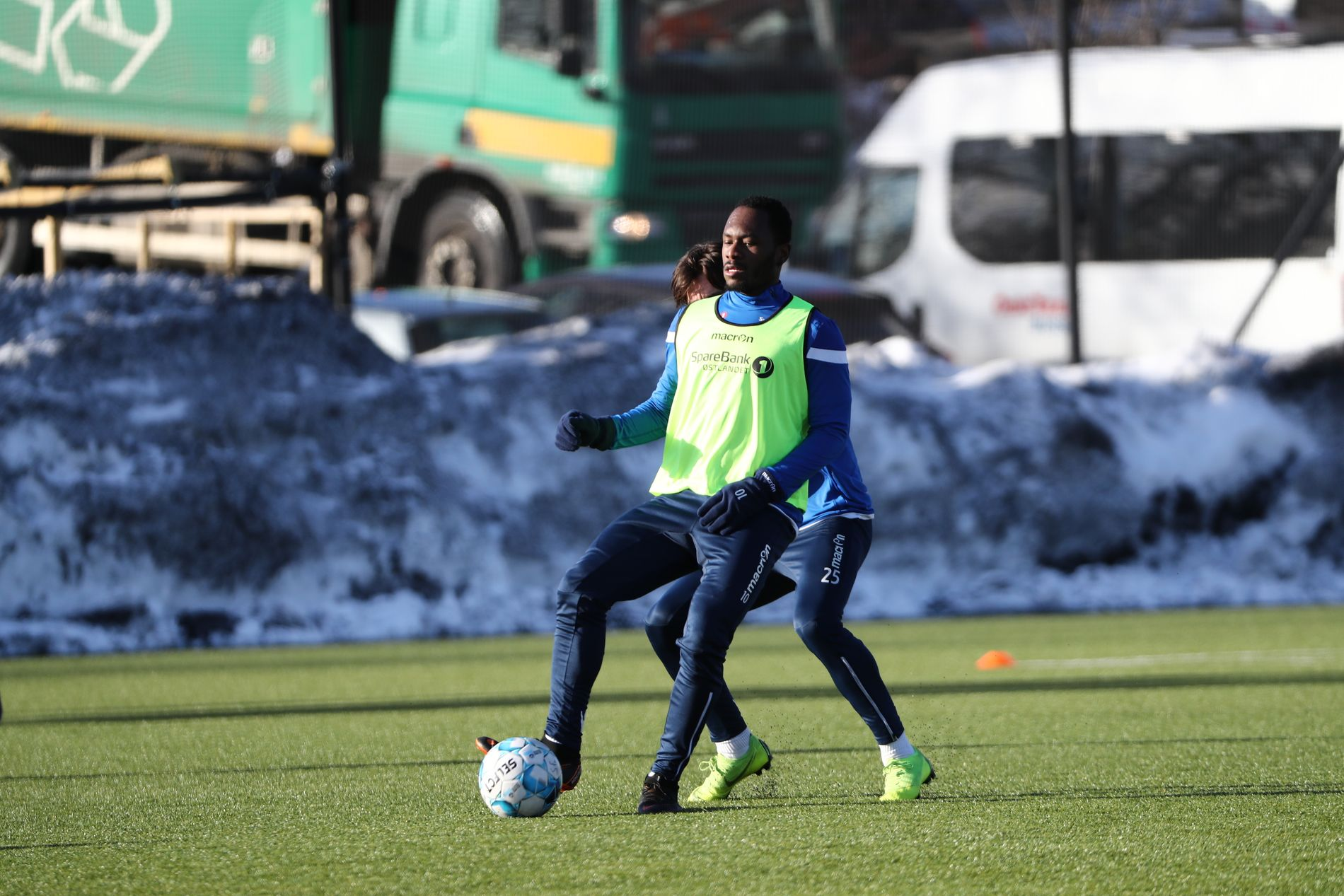 BEGAVET: Boli viste frem fine ferdigheter under onsdagens økt med Stabæk.