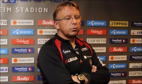 HAR FÅTT SPARKEN: Agnar Christensen er ikke lenger Tromsø-trener. Foto: Scanpix