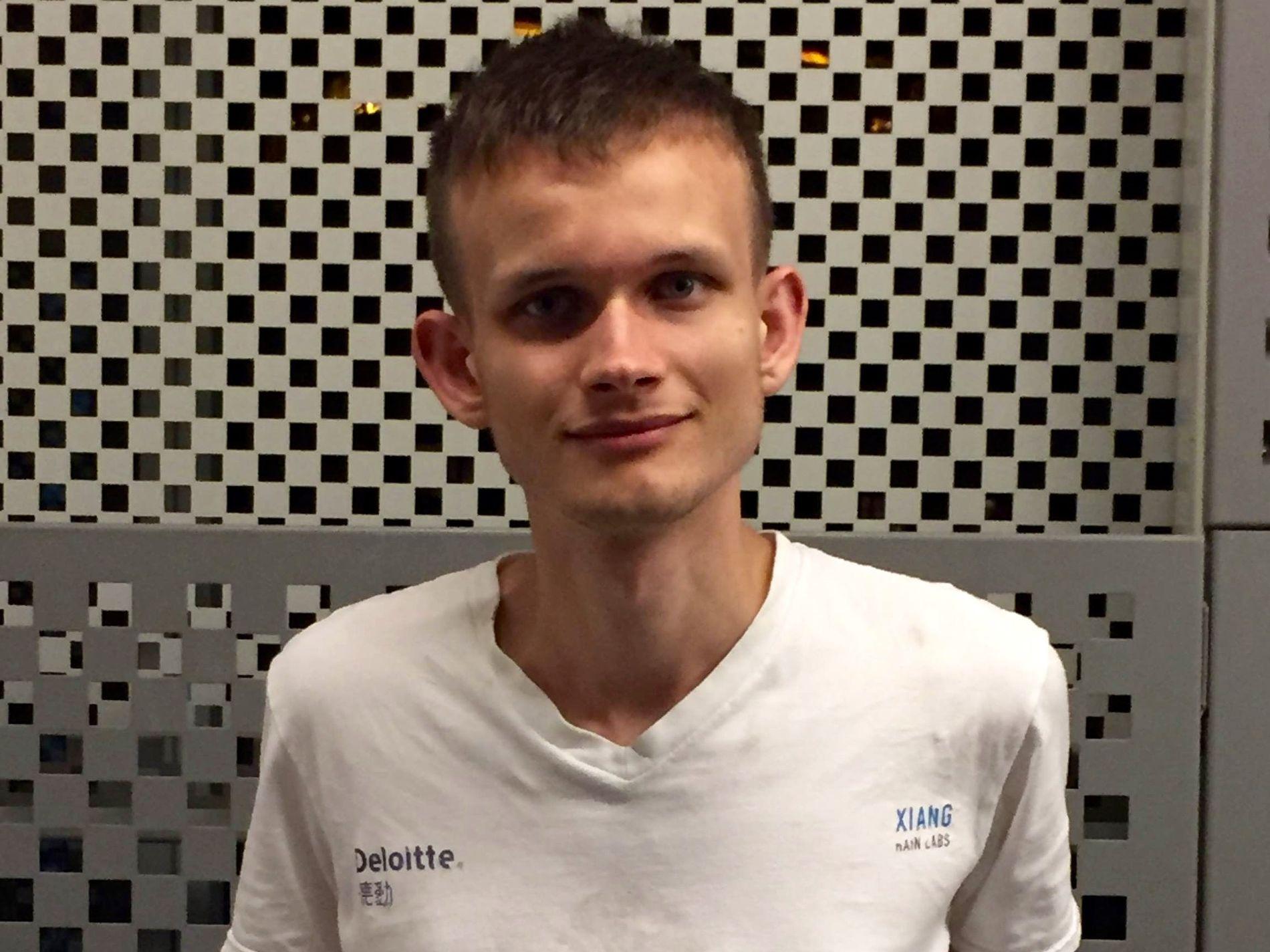 GENIERKLÆRT: Den 23 år gamle russeren Vitalik Buterin er en av grunnleggerne av ethereum.