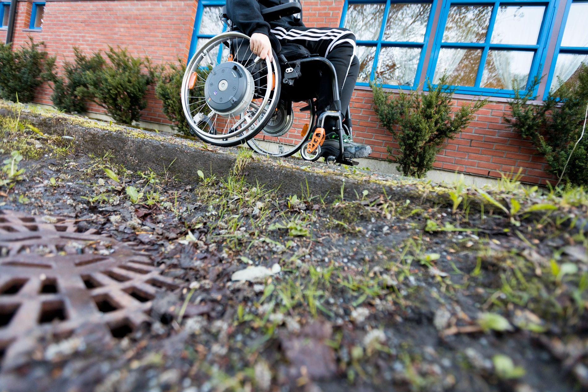LAVERE UTDANNINGSNIVÅ: - Det er ingen grunn til at mennesker med nedsatt funksjonsevne skal ha lavere utdanningsnivå enn andre, men likevel er det tilfelle, skriver kronikkforfatteren.