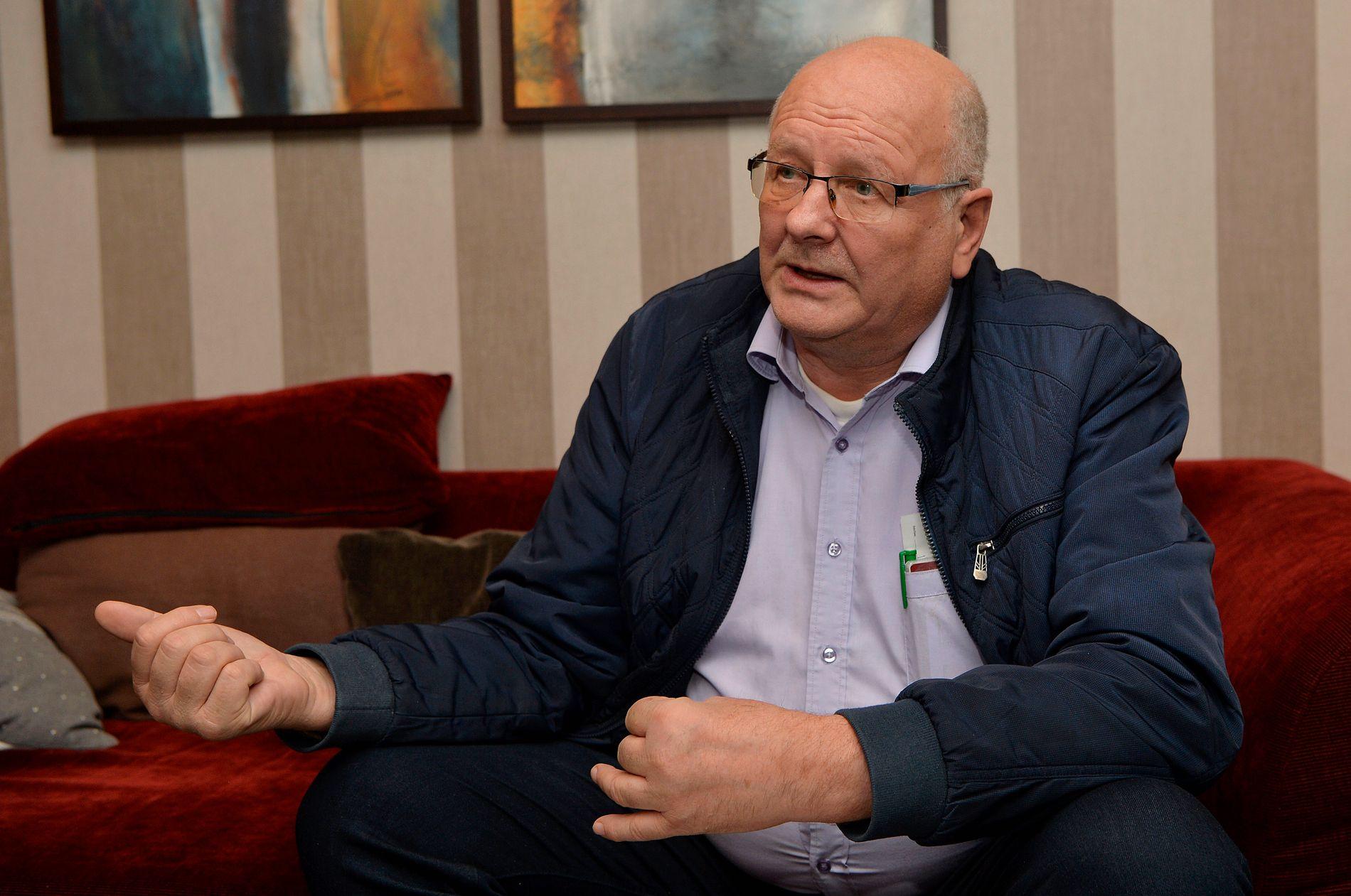 REAGERER: Atle Berge mener etterretningstjenesten har ødelagt for hans forretningsvirksomhet i Russland.